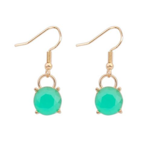 Náušnice Bay Mint #earrings #fashionjewelry #fashionjewellery #costumejewelry #costumejewellery #bijouterie #bijoux #fashion #style #accessories