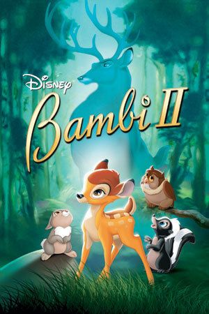 The story of Bambi growing up in the care of his father, The Great Prince of the Forest.