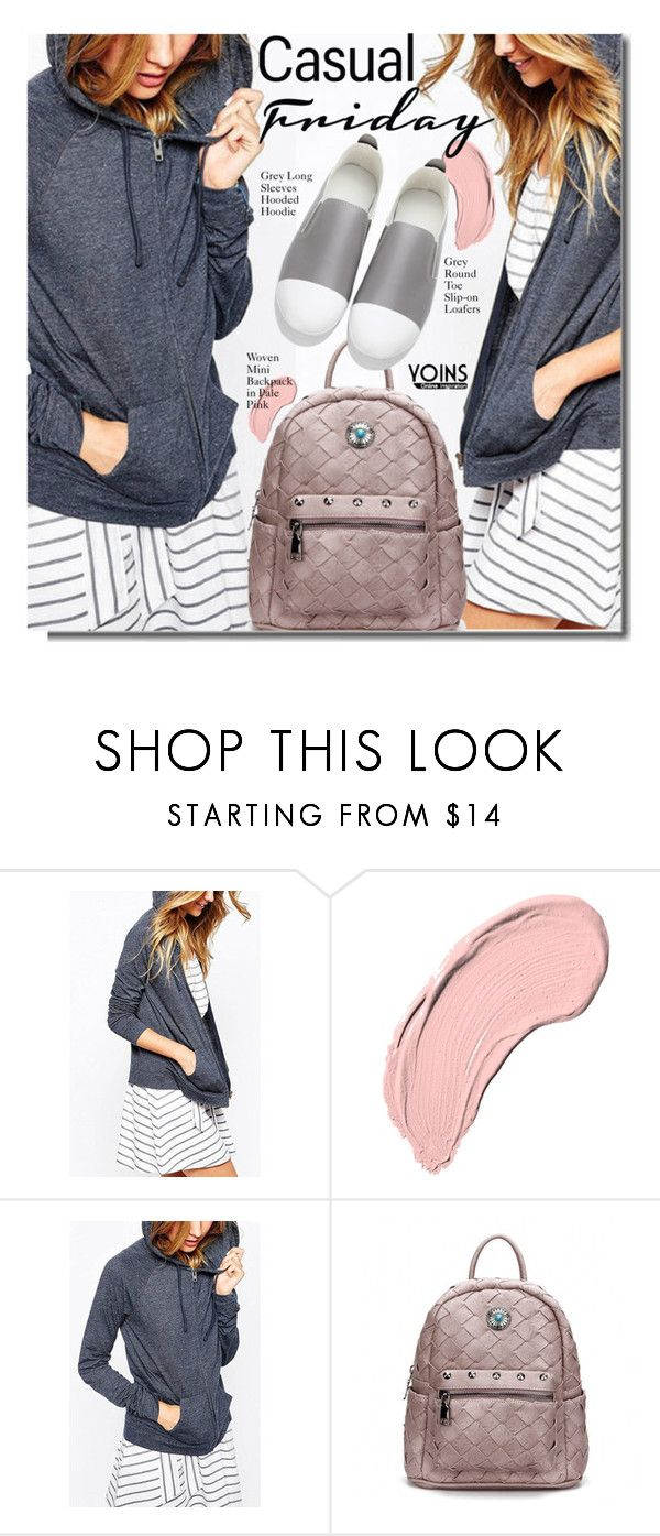 """""""YOINS Casual Friday"""" by justkejti ❤ liked on Polyvore featuring NYX"""