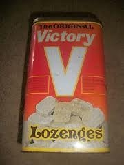 Victory V lozenges - my grandma always had these. When I get a cough I go and buy some.