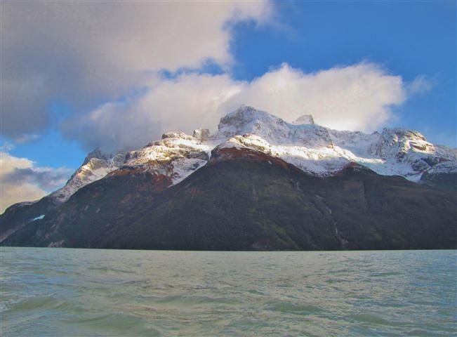 The Andes in Patagonia
