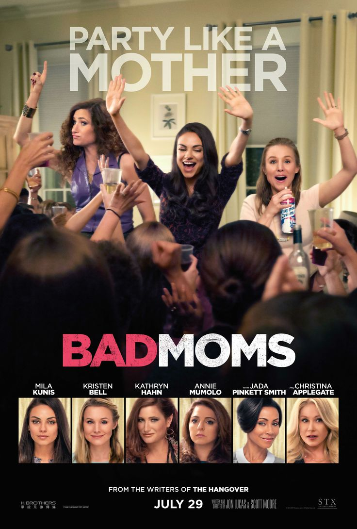 Bad Moms HD Movie Poster -  - www.hdmovieposters.com