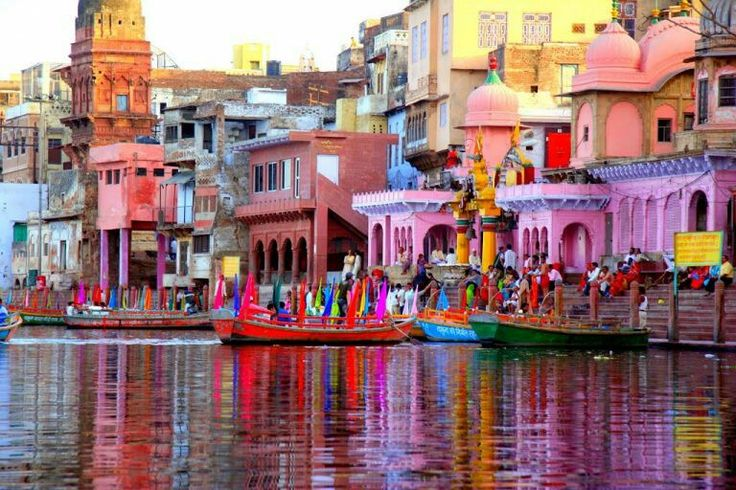 Famous Mathura is the Birth place of Lord Krishna