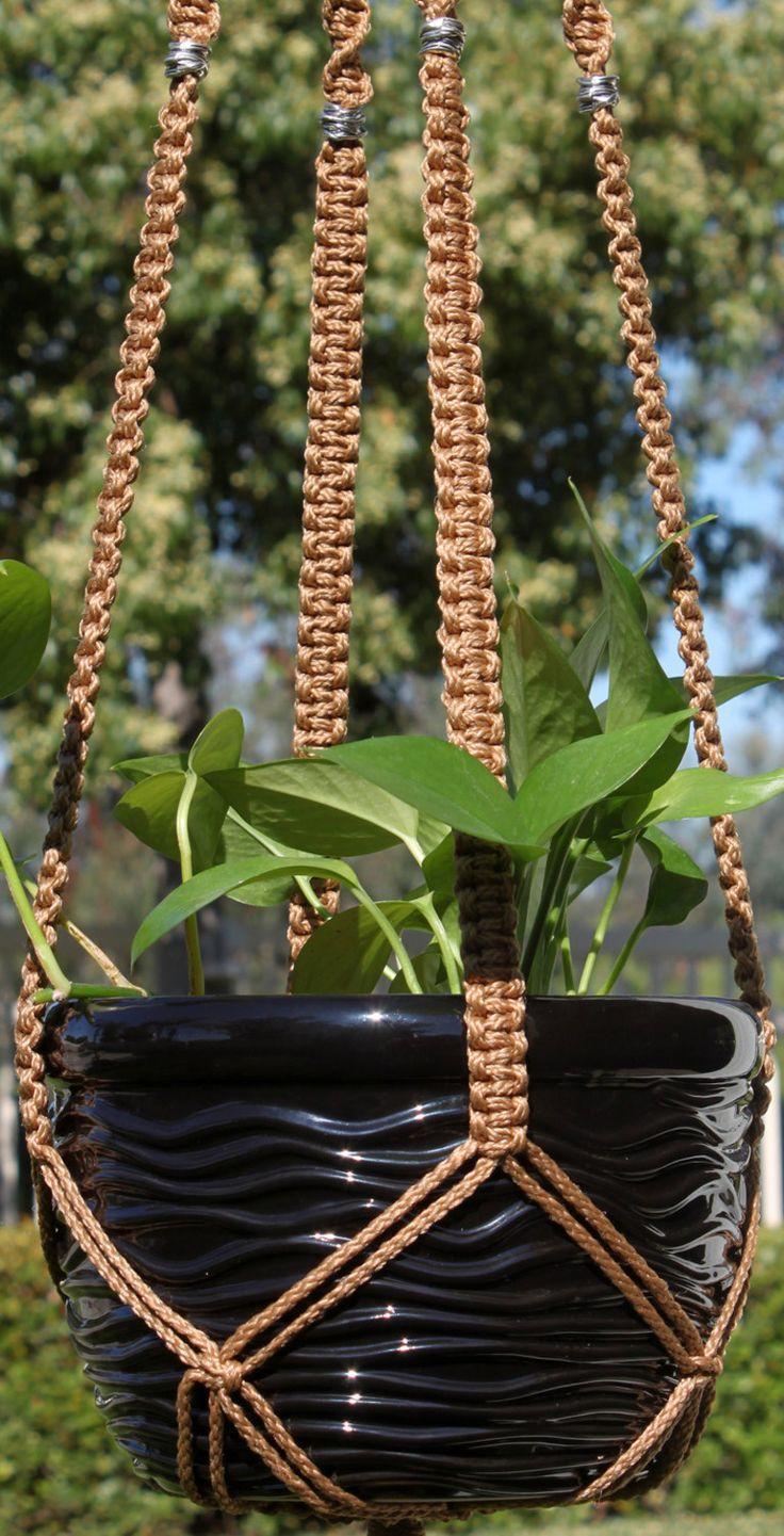 25+ best ideas about Macrame Plant Hangers on Pinterest ...