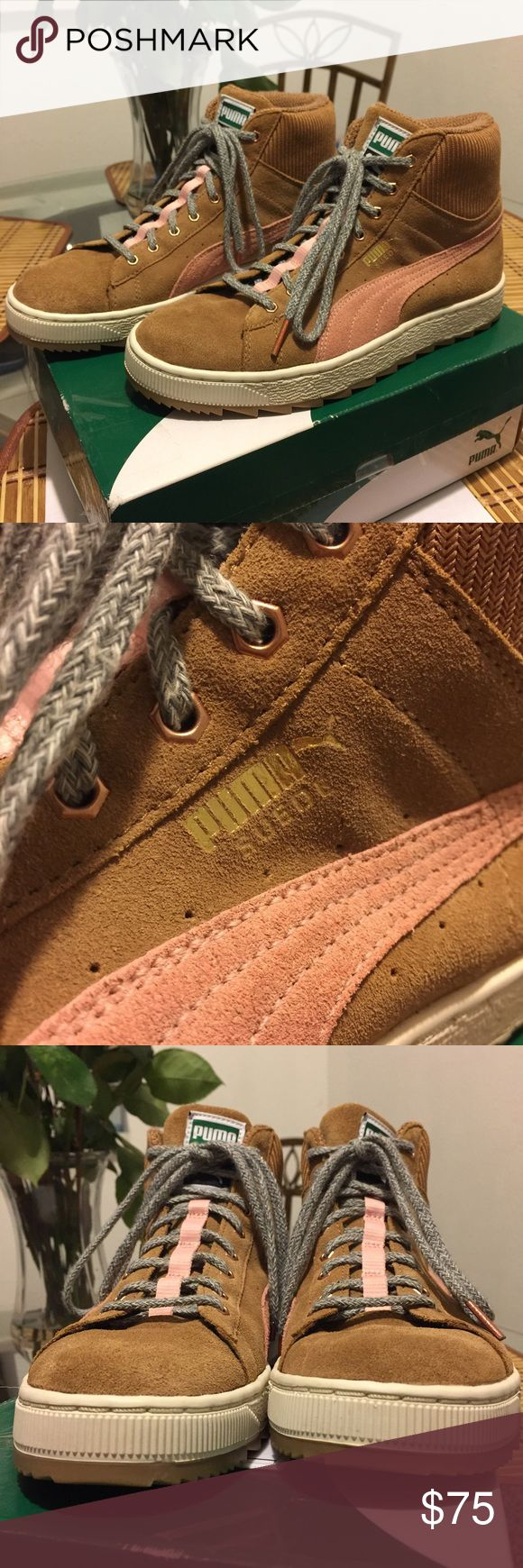 Puma Suede Winterized Rugged (Women's) Like new. Only worn a handful of times. Selling because I'm just not using it. Puma Shoes