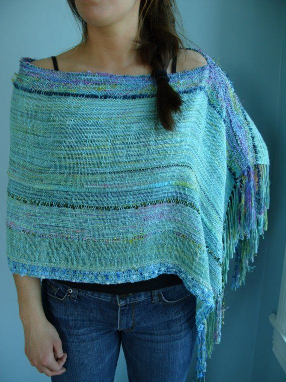 Handwoven Wrap by Cait Throop the barefoot weaver