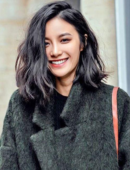 30 schöne Frisuren für schulterlanges Haar – #Fr…