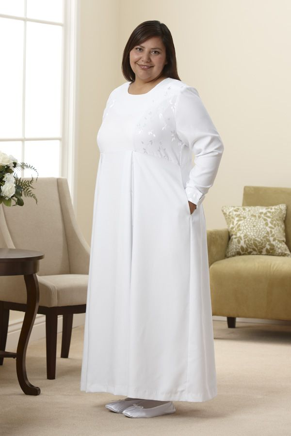 Nauvoo Dress- my temple dress. So beautiful in person ...