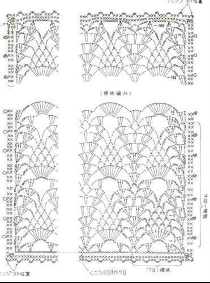 Picasa Web Albums. Crochet woman's shawl pattern diagram   Crochet