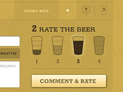 Barleys Rate Beer Form Continued  by Matthew Smith