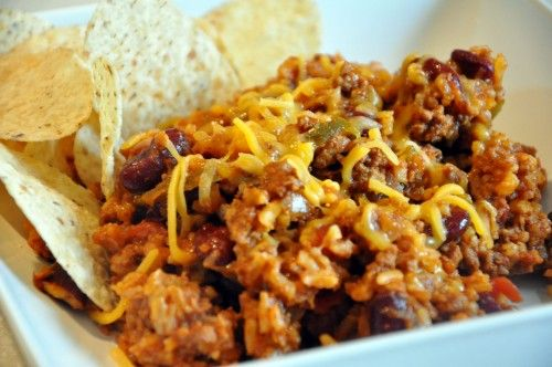 mexican casserole - in a crockpot