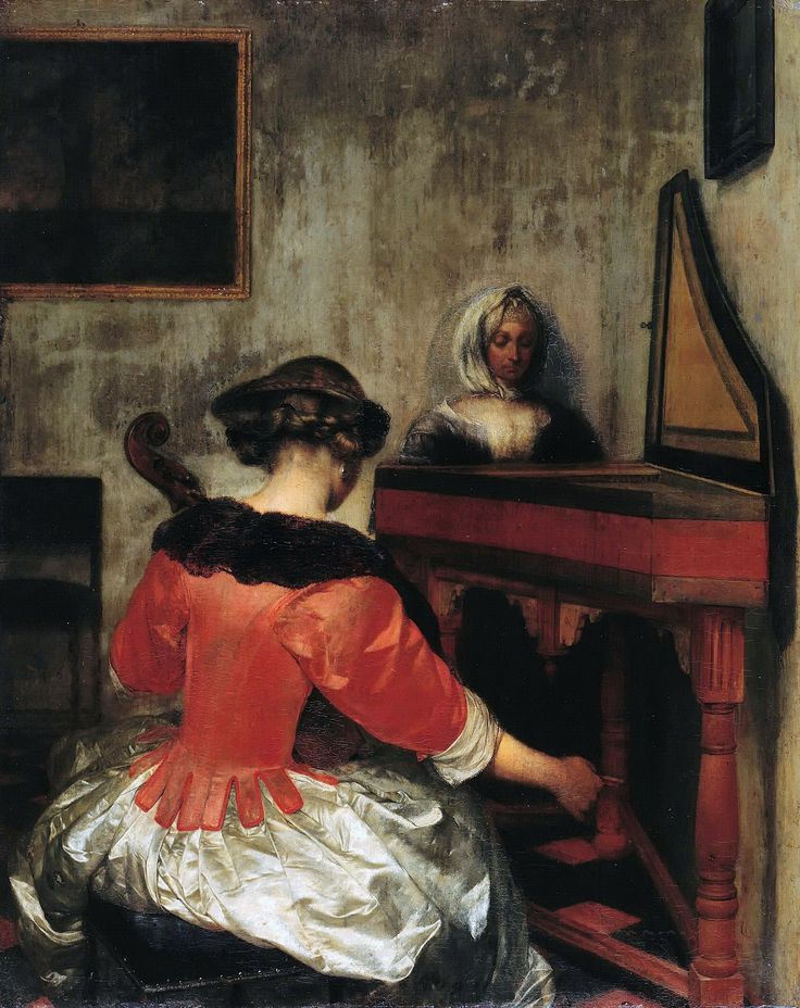 Gerard ter Borch - The Concert [c.1675] | Flickr - Photo Sharing!