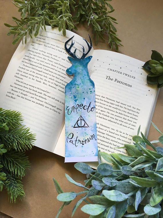 Harry Potter Bookmark  Custom Pottermore Patronus