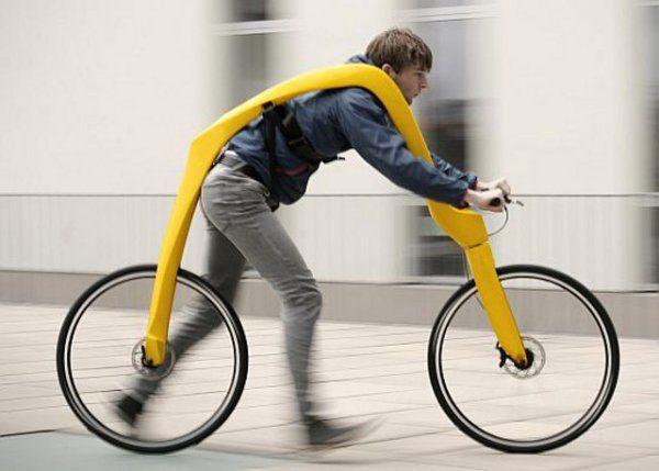 Fliz bicycle is an example in redundancy, requires you to run | Ubergizmo