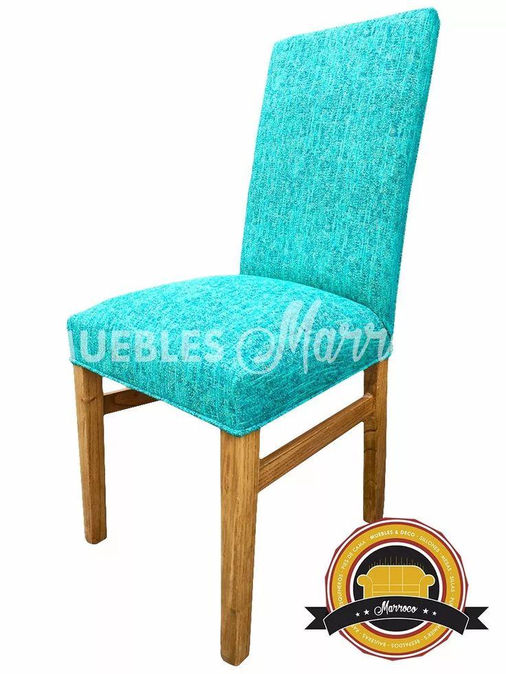 sillas vestidas madera paraíso refuerzos laterales