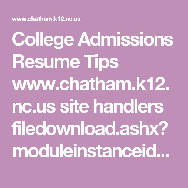 73 best College Counseling images on Pinterest Colleges, College - college admissions resume