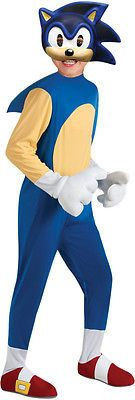 Kids Costumes: Sonic The Hedgehog Deluxe Sonic Costume Child -> BUY IT NOW ONLY: $37.99 on eBay!