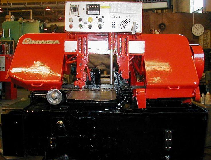 AMADA MODEL HA-250 AUTO HORIZONTAL BAND SAW #Amada