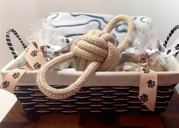 Dog Gift Basket by DOGBonesBoutique on Etsy