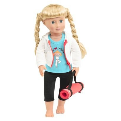 Our Generation 18 Quot Doll Outfit Yoga American Girl