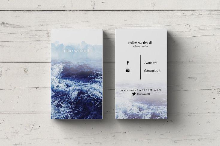 Introducing stylish, elegant, modern, beautiful, multipurpose business card temp...