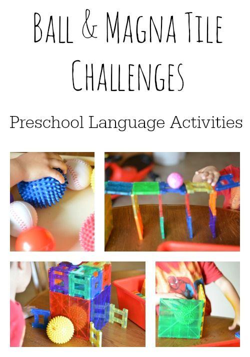 language preschool 142 best magnet play images on magna tiles 895