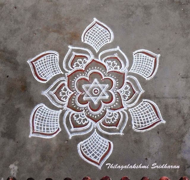 Rangoli and Art Works: FREEHAND KOLAM
