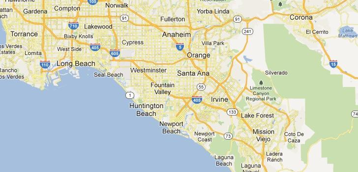 TaxiFareFinder - taxi fare from Newport Beach, CA to Disneyland Resort, Anaheim, CA using Anaheim, CA taxi rates