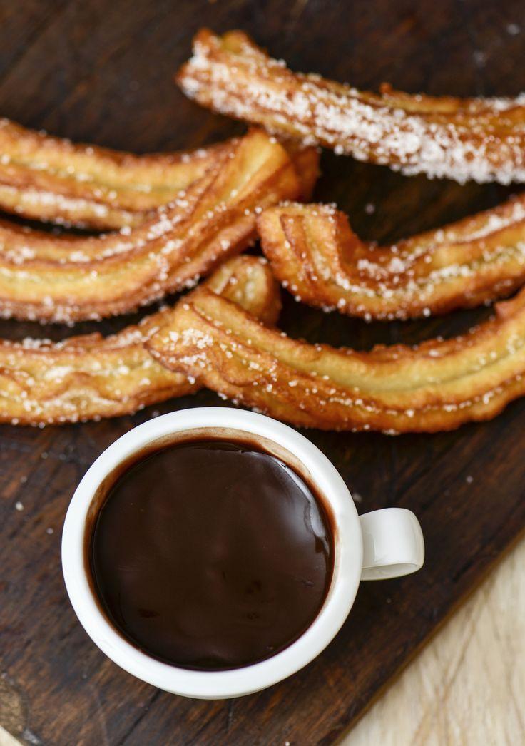 LA recette du chocolat chaud à l'espagnole.
