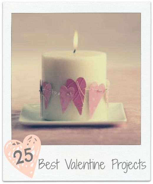 25 of the Best Valentine Projects Remodelaholic.com