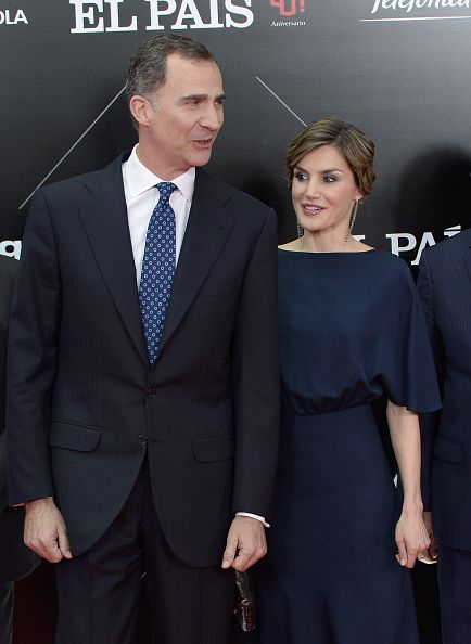 Spanish Royals Attend 'Ortega Y Gasset' Awards 2016 ceremony at the Palacio de Cibeles on May 5, 2016 in Madrid, Spain.