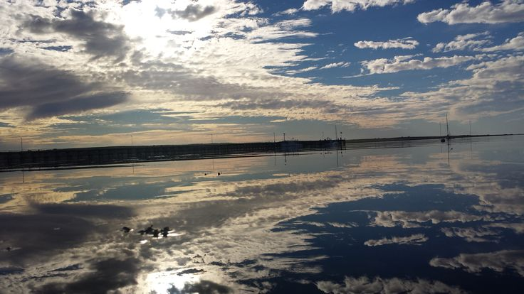 Beautiful afternoon, bay is glass calm.. www.living-happy.org