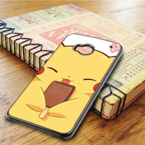 Pikachu Cute Pokemon Anime Cartoon HTC One M7 Case