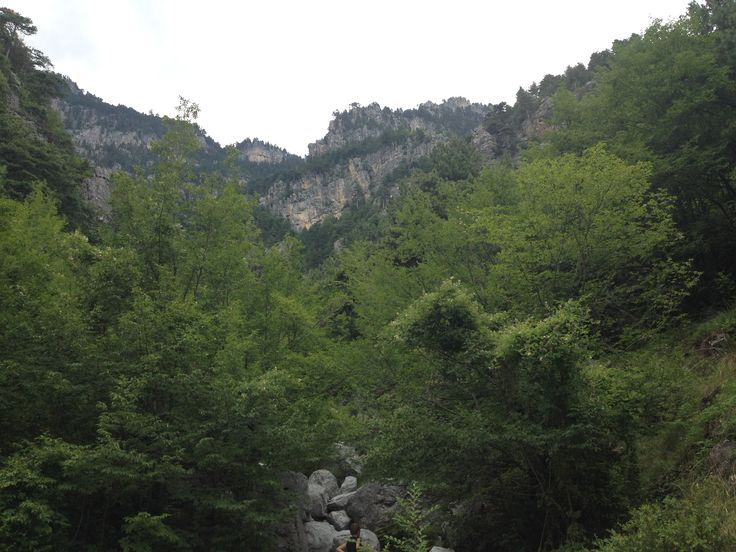 Олимп - самая высокая гора Греции и одна из самых высоких в Европе