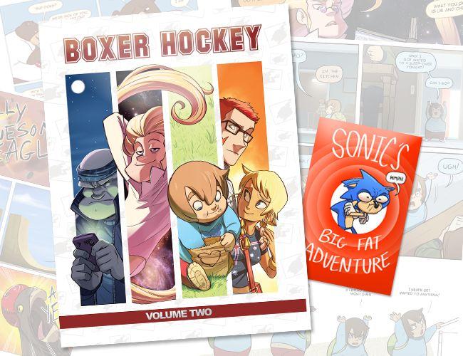 Boxer Hockey Book 2