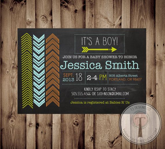 137 best images about will's baby shower!! on pinterest | foxes, Baby shower invitations