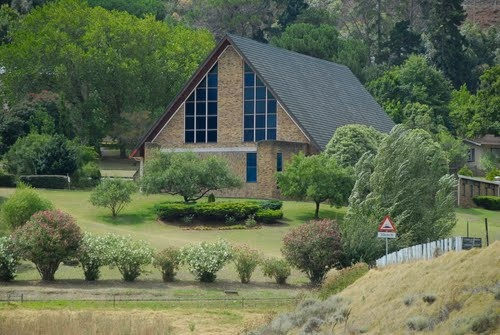 Helderberg Seventh Day Adventist Church, Somerset West, South Africa. Where I was Baptised the first time. The church I grew up in, first sang in on stage, first deaconess duties. A part of who I am.