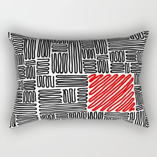 Buy Lines Rectangular Pillow by ongadesign. Worldwide shipping available at Society6.com. Just one of millions of high quality products available.