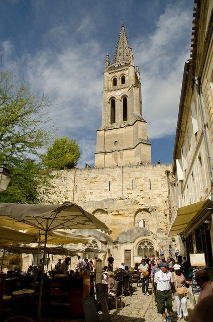 Market Day in Saint-Emilion ~