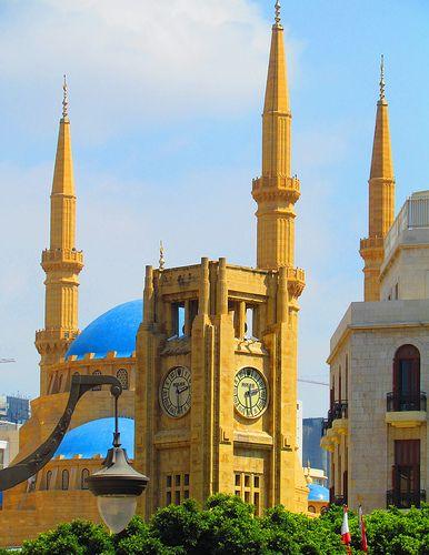 Hamidiye saat kulesi - Beyrut, Lübnan / The Hamidiya Clock Tower in Beirut, Lebanon