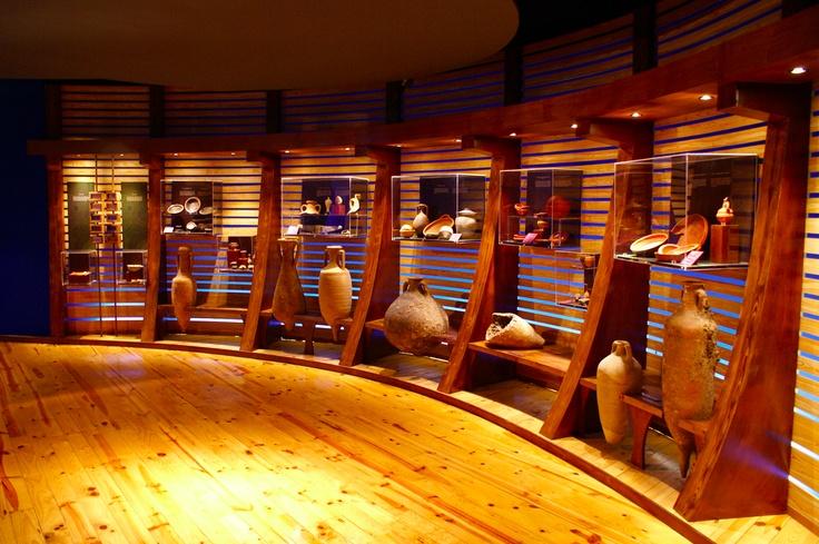 Una de las salas del Museo de Prehistoria de Valencia