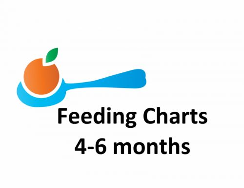 What to feed, when to feed, and how much to feed babies 4, 5, or 6 months old