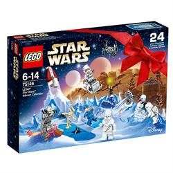 LEGO Star Wars Advent Calendar 2016 - Includes 8 mini figures and and assortment of vehicles, aircraft and weapons.