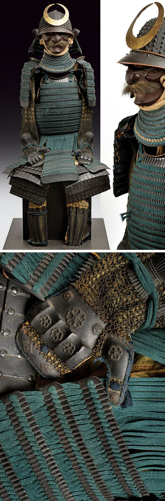 A Nimai-Do Gusoku armor:    provenance:	 	Japan dating:	 	circa 1700