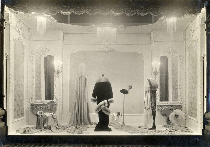 One of Selfridges' original fashion window displays