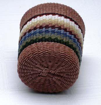 Adirondack Waxed Linen Baskets :: Adirondack Basketry