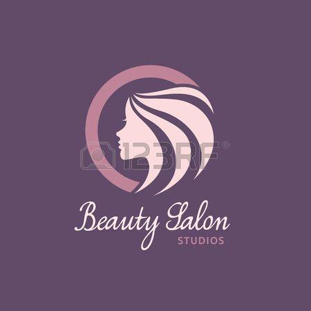 logo Beauty Care Femminile Logo salone di bellezza logo logo vettoriale template Archivio Fotografico