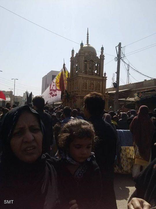 Ashura Procession 1438 / 2016 - Rahim Yar Khan Pakistan  (10 Muharram 1438 / 2016 - Rahim Yar Khan Pakistan)  Photography: Zaeem Haider  Shia Multimedia Team - SMT http://ift.tt/1L35z55