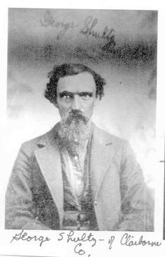 Melungeon People Ancestry | This is George Shultz, Sr. Born 21 SEP 1796 in Claiborne County, TN ...