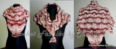 Crochet fashion by Moniq